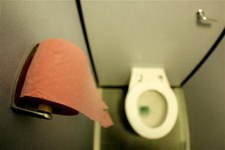 Английский в туалете